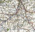 Ordnance Survey One Inch Map - New Popular Edition 1940 - 1948 at 1:50,000